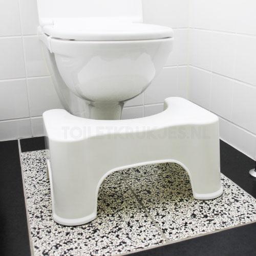 standaard formaat toiletkrukje